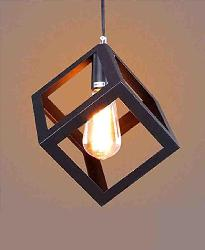 Square Shape Metal Hanging Light