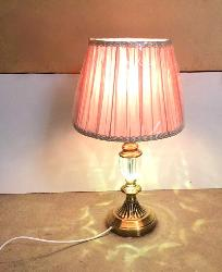 Fabric Shade Table Lamp For Bedroom Bedside Light