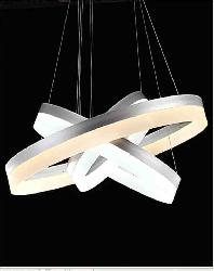 Three Ring Acrylic High Power LED Hanging Light