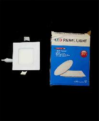 3W Ultra Slim Square LED Panel Light For POP