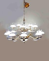 New design beautiful golden finished created Led Italian Chandelier