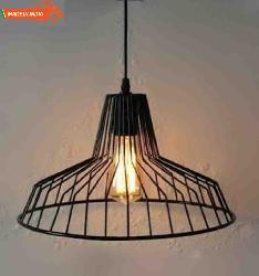Industrial Iron Retro Style Pendent Light For Cafe Bar