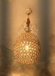 Beautiful Golden Design Crystal Hanging light