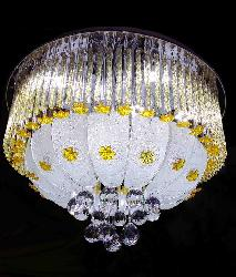 New pencil Design Crystal Multi color Chandelier