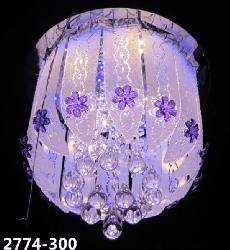 Crystal Decorative Multi Color Chandelier