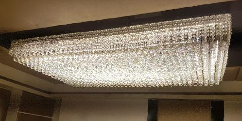 Customized Square Crystal Chandelier