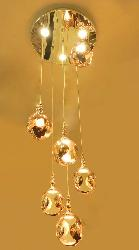 Luxury 6 Lights Hanging Chandelier