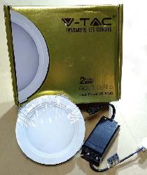 8 Watt Round V-TAC LED Panel Light