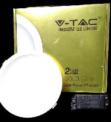 22 Watt Round V-TAC LED Panel Light