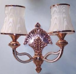 Exquisite Design Double Glass Contemporary Wall Lamp
