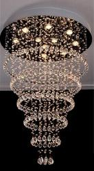 Stunning Rings LED Crystal Chandelier
