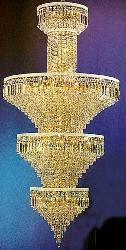 Huge Graceful Crystal Design Chandelier