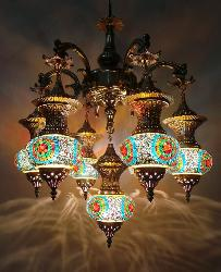 The Large Size Moroccan Chandelier