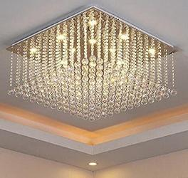 Jhoomarwala Customized Square Chandelier