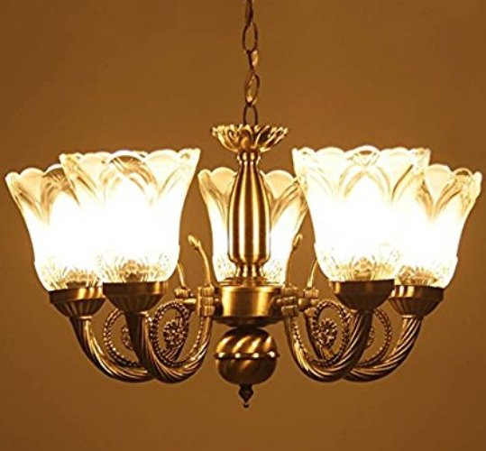 Antique chandeliers online buy modern chandeliers in india antique design metal chandelier with 5 glass lamp aloadofball Images