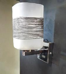 Aesthetic LED Wall Light with Special Column Glass
