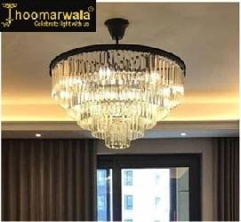 Jhoomrwala Customized Luxury Crystal Chandelier