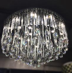 Stunning Round Shape Decorative Crystal Chandelier