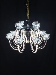 Magnificent Chrome Finish Arms LED Chandelier