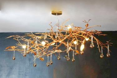 Custom Made Chandelier Tree Design Size as per require