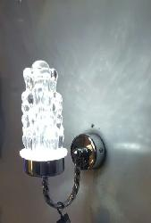 LED Wall Lamp Grapes Shape Crystal Glass