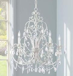 4 Lights European Style Candle Holder Italian Chandelier