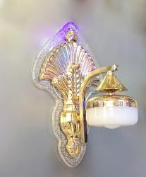 Modern Traditional Design Golden Frame and Down Direction Head LED Wall Lamp