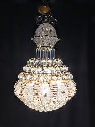 Old Fashioned King Size Golden Design Crystal Decorative Chandelier