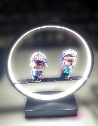 Girl and Boy Lovely designer LED Light Table Lamp