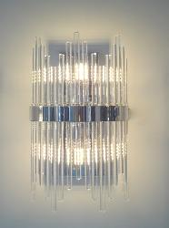 Glass Pipe Wall Lighting Lamp