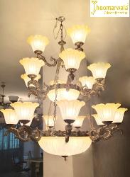 Big Size and Double Height Antique Chandelier