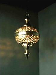 Mughal Moroccan Toffy Lamp