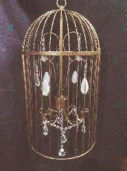 Modern Design Bird Cage Chandelier