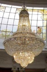 Made In India Customized Big Size Crystal Decor Chandelier