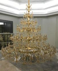 Very Large Size Italian Design Chandelier For Very large Height Ceiling