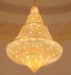 Jhoomarwala King Size Crystal Design Home Decorative Chandelier