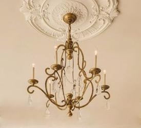 Customized Elegant European Style Candle Holder Italian Design Chandelier