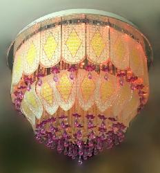 600 MM Diameter Musical and Multi Color Chandelier