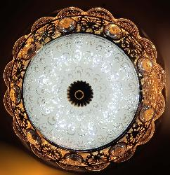 Mughal Touched Surface Mounted LED Ceiling Light