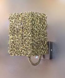 Latest Golden Coated  Square Shape Design LED Light Wall Lamp