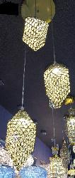 Sparkling Crystal Three Pendant Hanging Chandelier