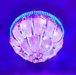 600 MM Size Multi Colors Changing LED Light Ceiling Chandelier With Bluetooth System