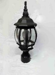 Imported Black Finished Outdoor Gate Light