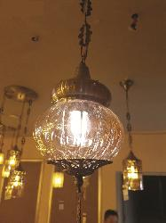 Antique Round Pendant & Hanging Chandelier