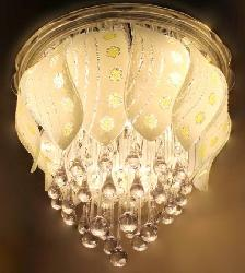Bright Illuminated And Color Changing Bedroom Ceiling Fixture Chandelier Light