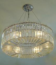 Luxury Crystal Decor Design And Height Adjustable Chandelier For Dining Room