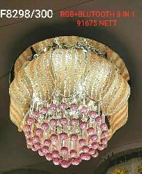 300 MM Small Size Multi Colors LED Light Ceiling Light Chandelier