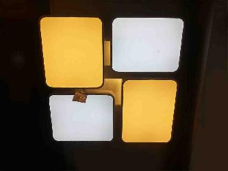 Two Colors Square LED Ceiling Light