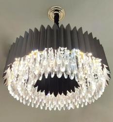 Modern Crystal Design Pendant Chandelier For Living Room