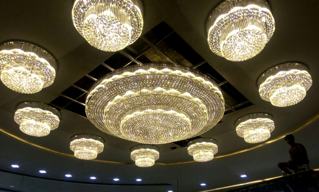Large big size crystal chandeliers project big size crystal chandeliers aloadofball Choice Image